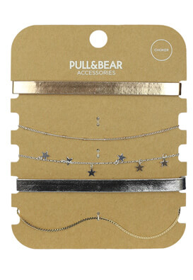 SET COLIER PULL AND BEAR DIANA COLORS