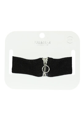 COLIER PULL AND BEAR ALMA BLACK