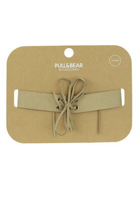 COLIER PULL AND BEAR PETRA LIGHT BEIGE
