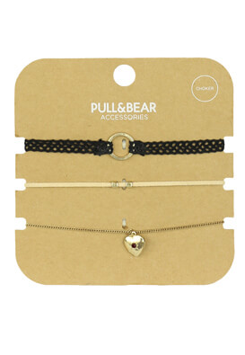SET COLIER PULL AND BEAR KASSANDRA COLORS