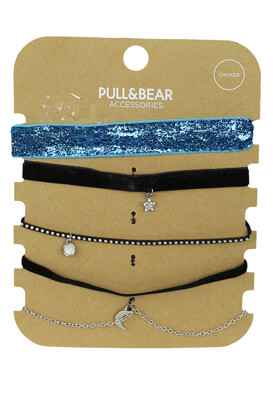 SET COLIER PULL AND BEAR IVY COLORS