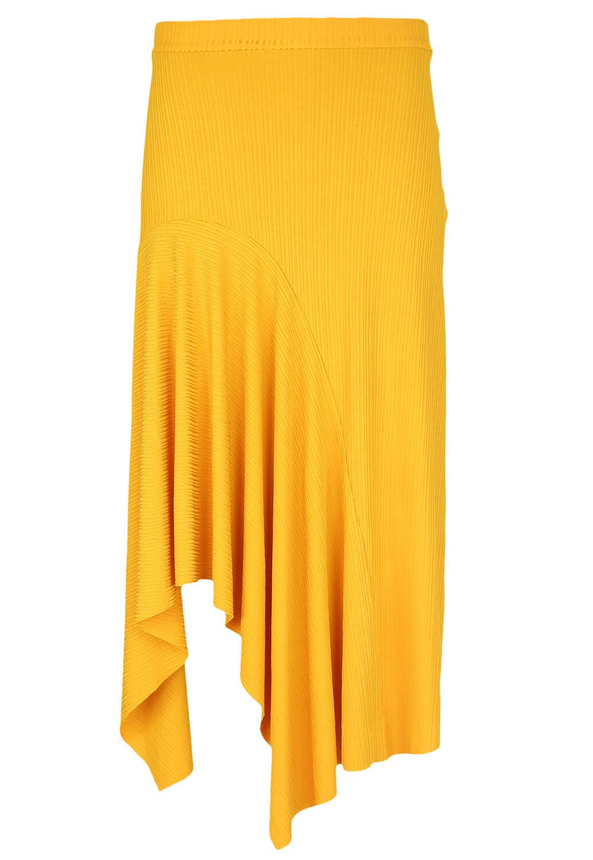 Fusta Bershka Wendy Dark Yellow