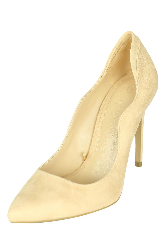 Pantofi Bershka Keira Light Beige