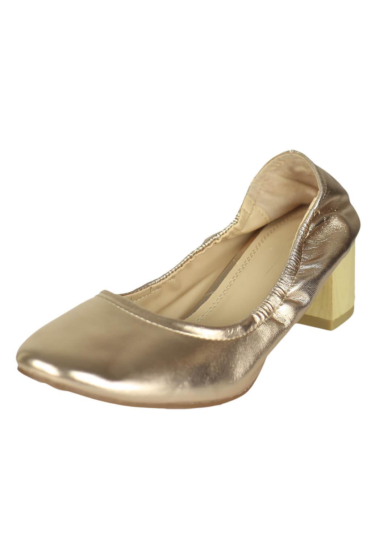 Pantofi Pull and Bear Carrie Golden
