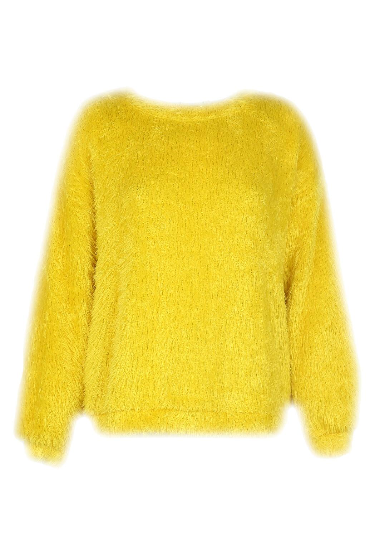 Pulover Bershka Chloe Dark Yellow