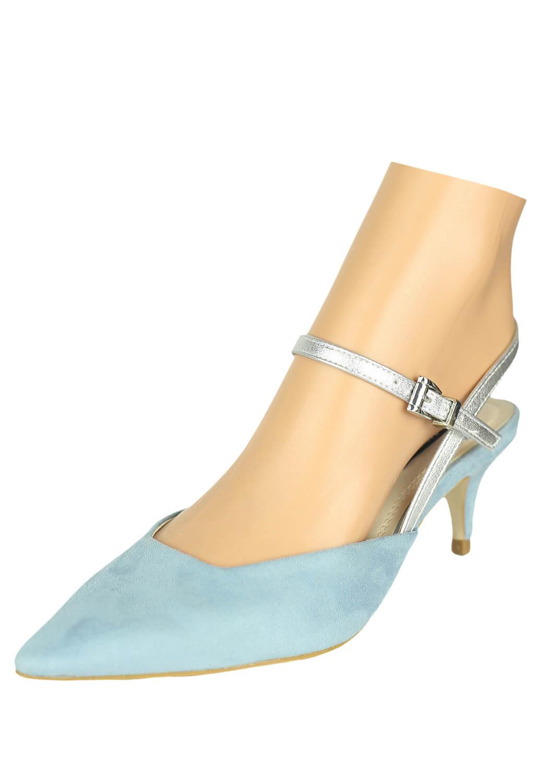 Pantofi ZARA April Light Blue