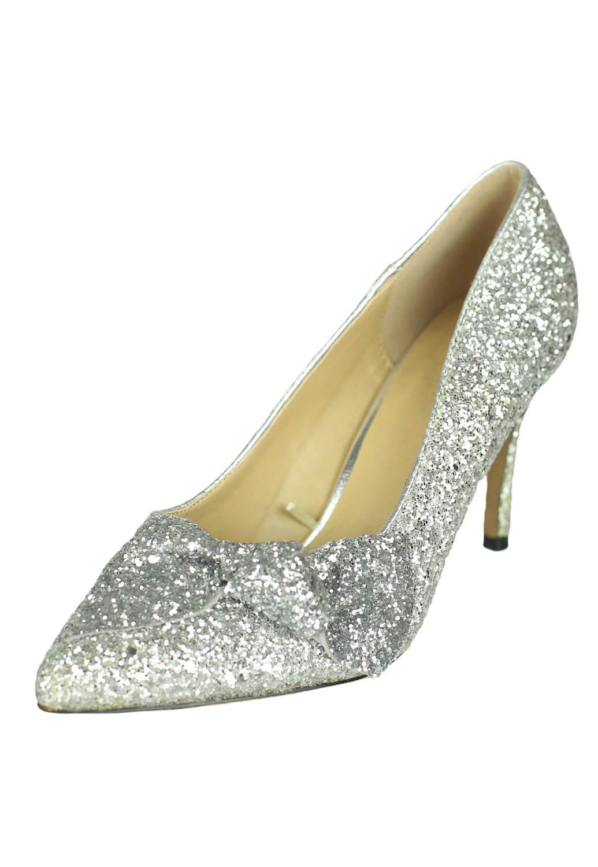 Pantofi Lefties Kendra Silver
