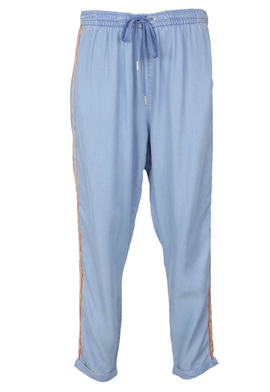 Pantaloni Bershka Nicole Light Blue