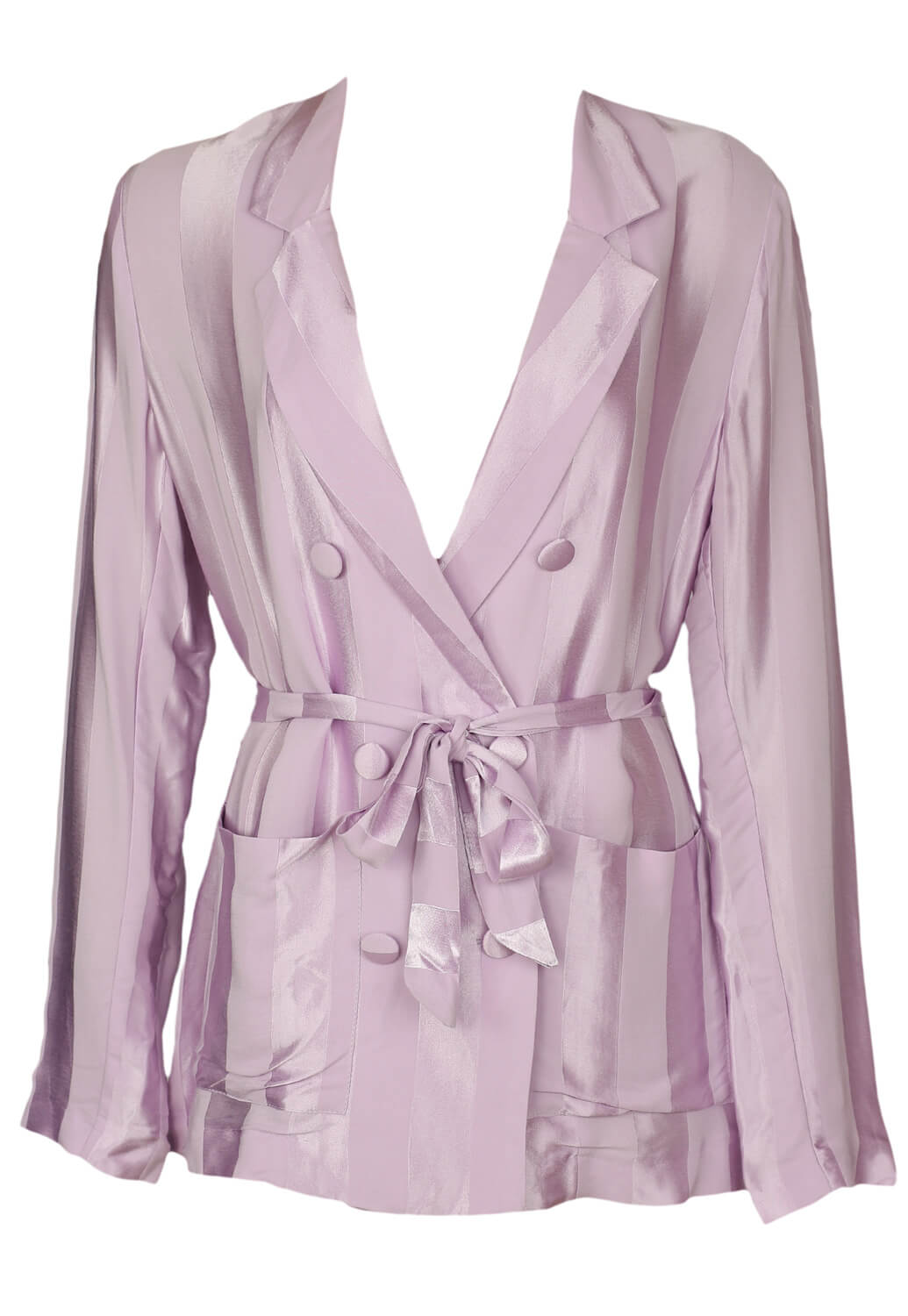 Sacou Bershka Erin Light Purple