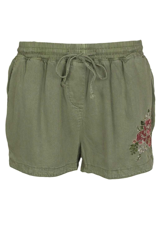 Pantaloni scurti New Look Maggie Dark Green