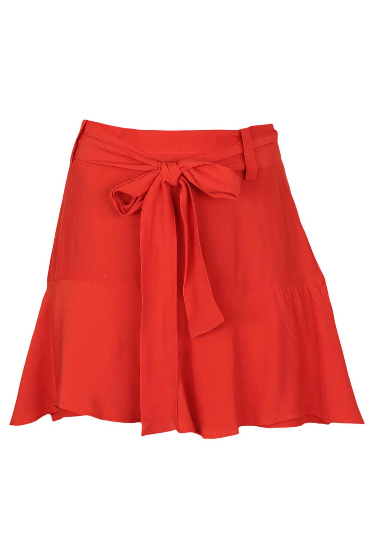 Pantaloni scurti ZARA Ciara Red