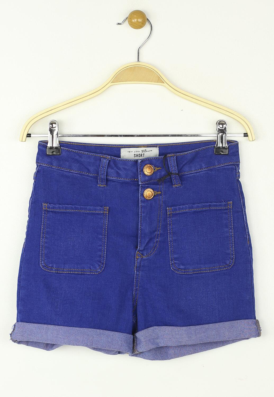 Pantaloni scurti New Look Nastasia Dark Blue