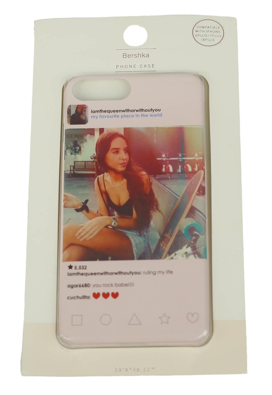 Husa telefon Bershka iPhone 6/7 Plus Colors