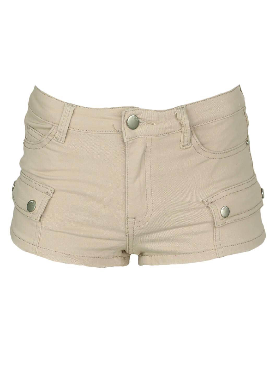 Pantaloni scurti Cropp Kiara Beige
