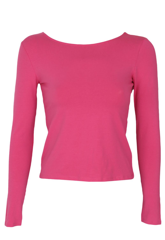 Bluza Reserved Tara Dark Pink