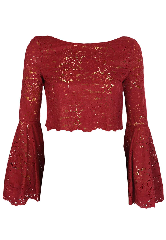 Bluza Vero Moda Victoria Dark Red