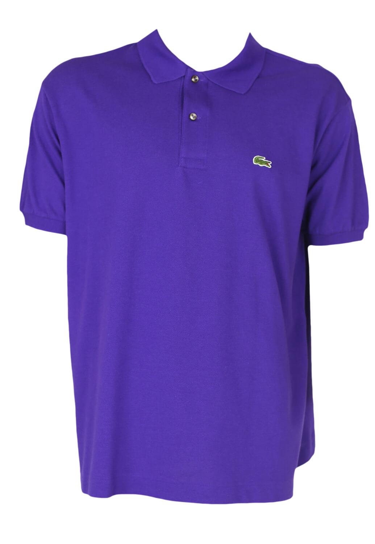 Tricou Polo Lacoste Matt Purple