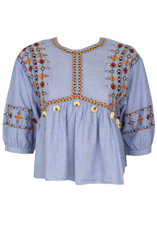 Bluza ZARA Julia Blue