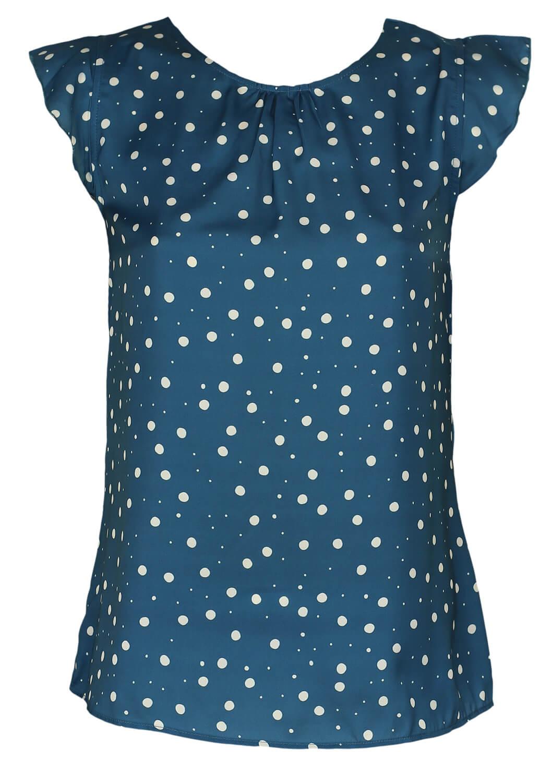 Tricou Orsay Alma Turquoise