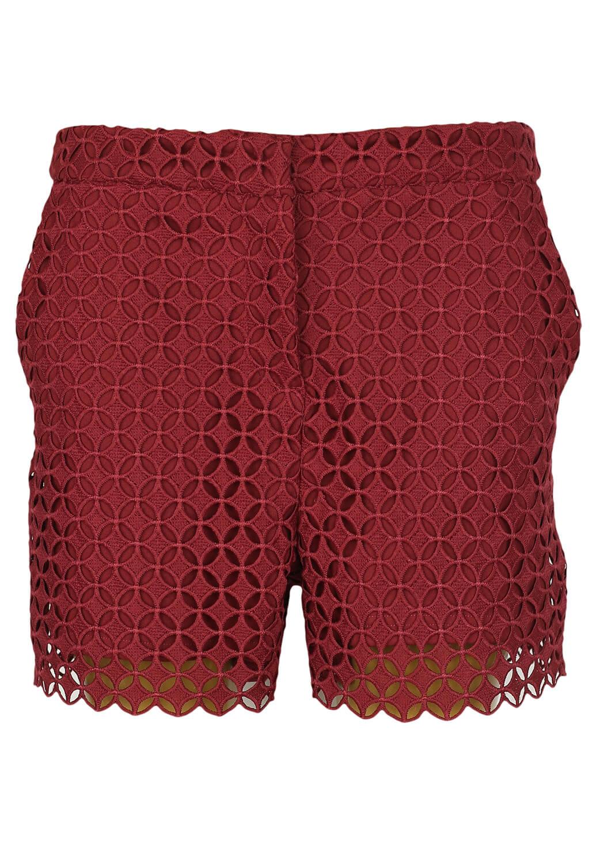 Pantaloni scurti Orsay Patricia Dark Red