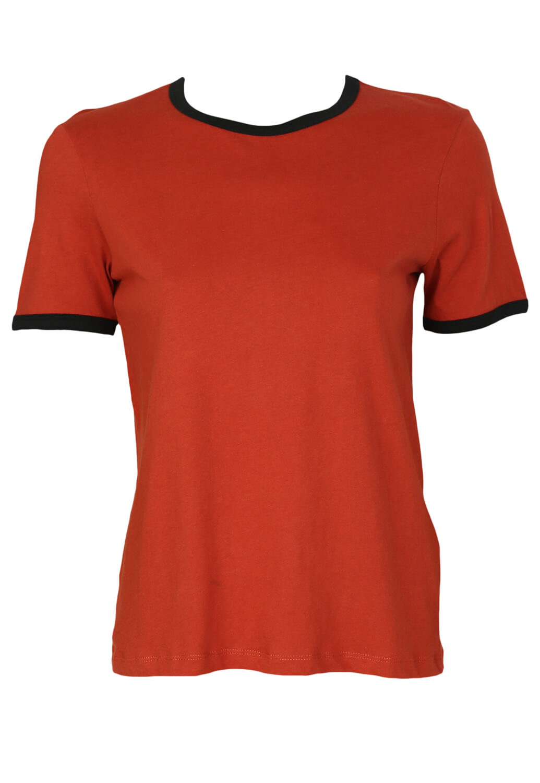Tricou ZARA Hailey Dark Red