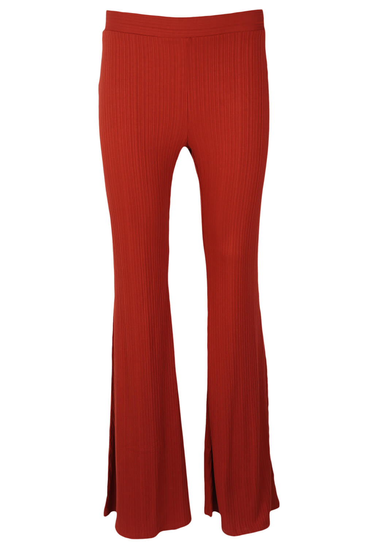 Pantaloni Bershka Brenda Dark Red