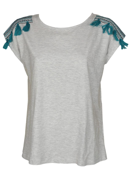 Tricou Emonite Dasia Light Grey