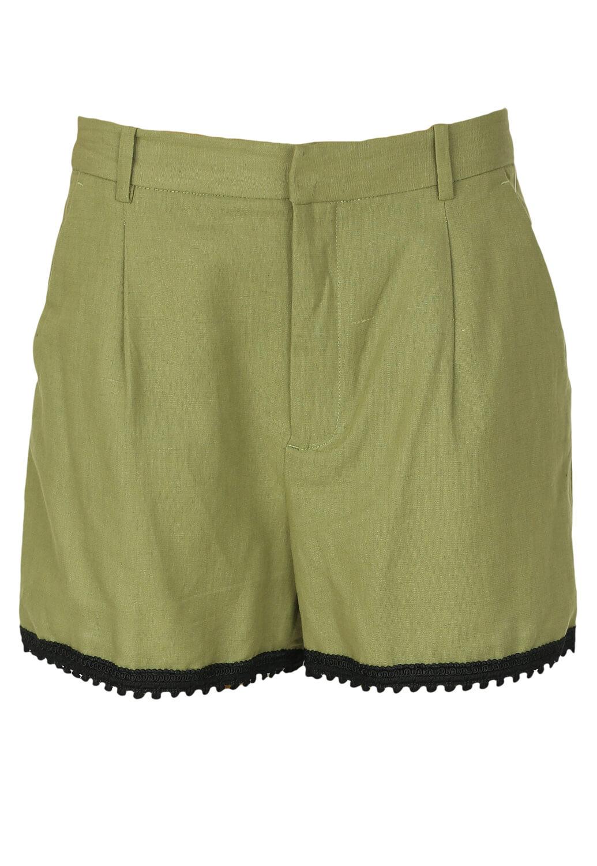 Pantaloni scurti ZARA Samira Dark Green