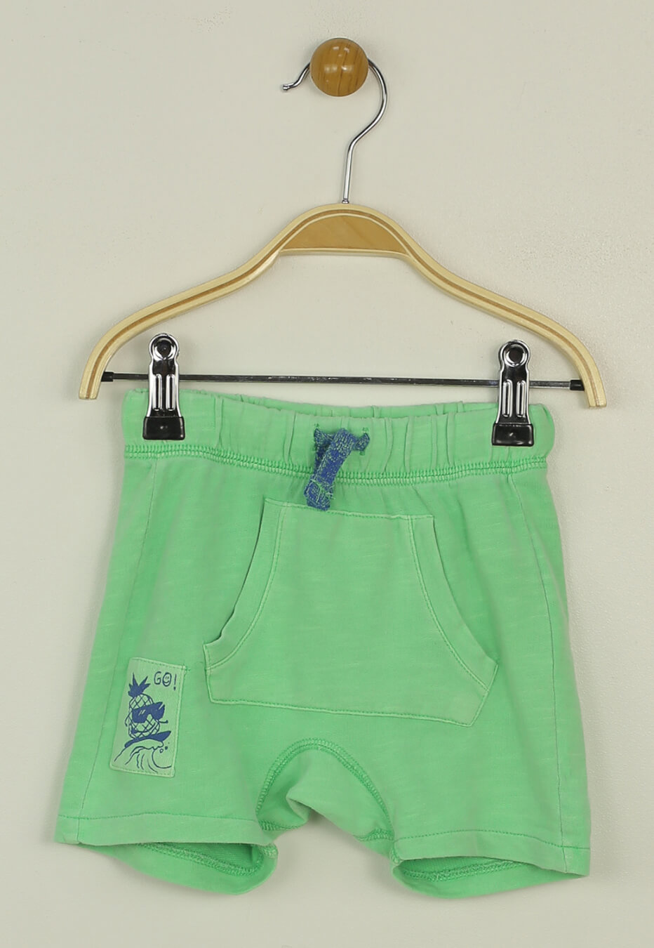 Pantaloni scurti zara sporty green