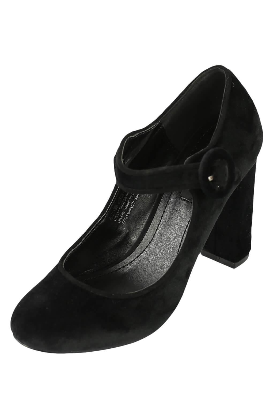 Pantofi Orsay Nita Black thumbnail