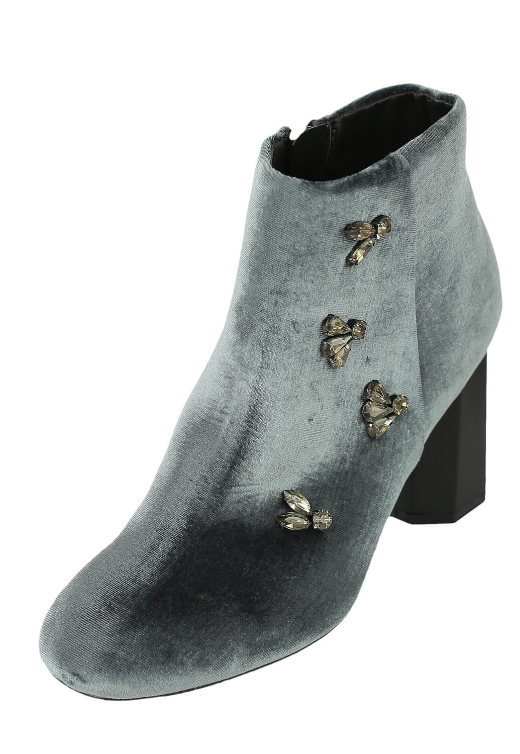 Botine Orsay Kitty Grey thumbnail